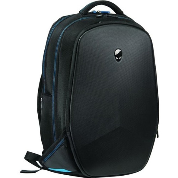 "Mobile Edge Alienware Vindicator AWV15BP2.0 Carrying Case (Backpack) for 15.6"" Notebook - Black, Teal - AWV15BP-2.0"