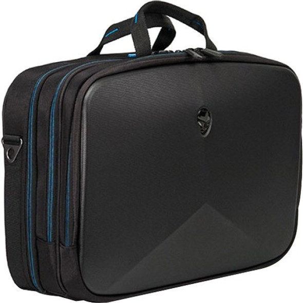 "Mobile Edge AWV13BC2.0 Carrying Case (Briefcase) for 13"" Notebook - Black, Teal - AWV13BC-2.0"