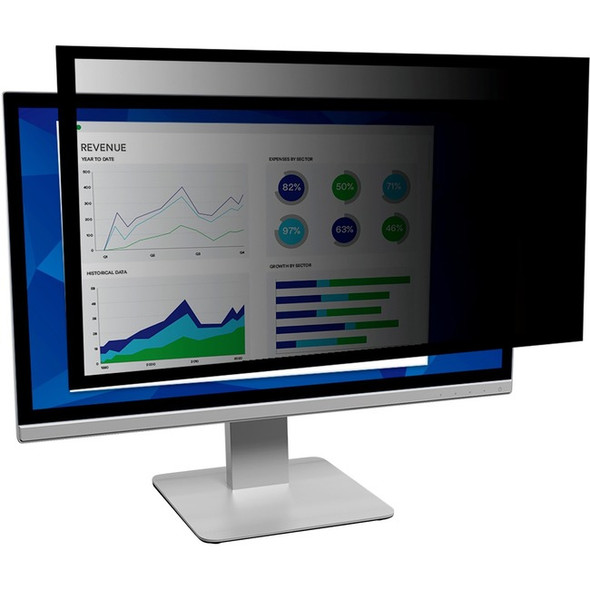 """3M Framed Privacy Filter for 18.5"""" Widescreen Monitor - PF185W9F"""