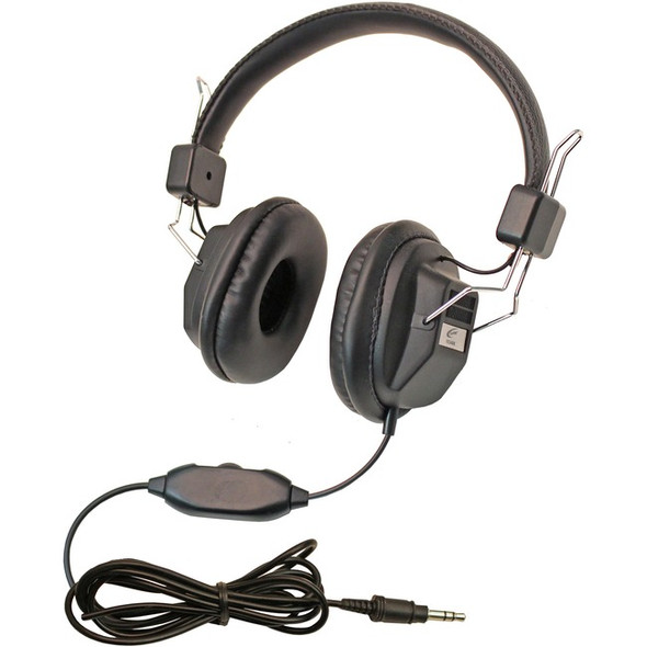 Califone 10 Pack Kids Headphone - 1534BK-10L