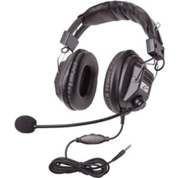 Califone Switchable Stereo/Mono Headset with To Go Plug - 3068MT