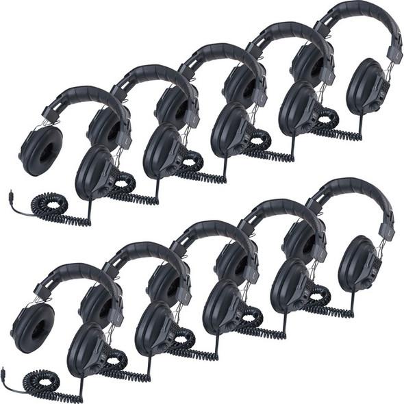 Ergoguys Llc Califone 10 Pack Stereo Mono Headphones - 3068AV-10L
