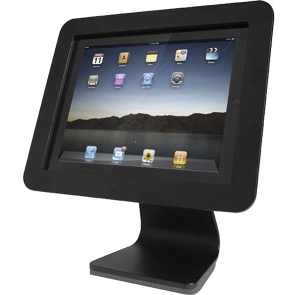 All in One- iPad Rotating and Swiveling Stand Black - AIO-B