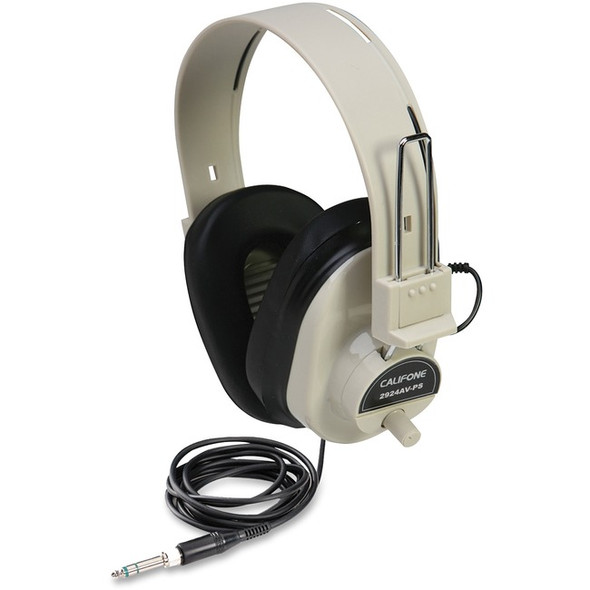 Ergoguys Ultra Sturdy Stereo Headphone with Volume Control - 2924AVPS