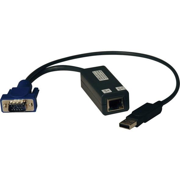 Tripp Lite KVM Switch USB Server Interface Unit HD15 USB RJ45 8 Pack TAA - B078-101-USB-8