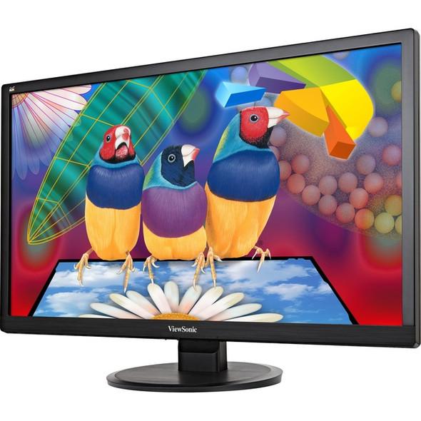 "Viewsonic Value VA2855Smh 28"" Full HD LED LCD Monitor - 16:9 - Black - VA2855SMH"