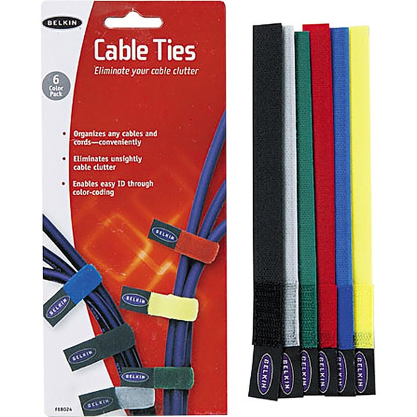 Belkin Cable Ties 8 Inch - F8B024