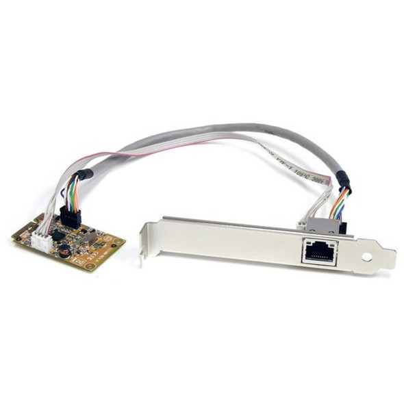 StarTech Mini PCI Express Gigabit Ethernet Network Adapter NIC Card - ST1000SMPEX