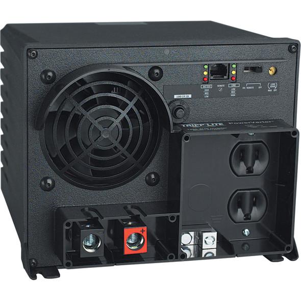 Tripp Lite Industrial Inverter 1250W 12V DC to 120V AC RJ45 2 Outlets 5-15R - PV1250FC