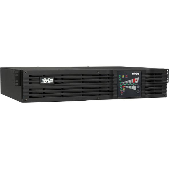 Tripp Lite UPS Smart Online 1500VA 1200W Rackmount 100V-120V USB DB9 2URM - SU1500RTXL2UA
