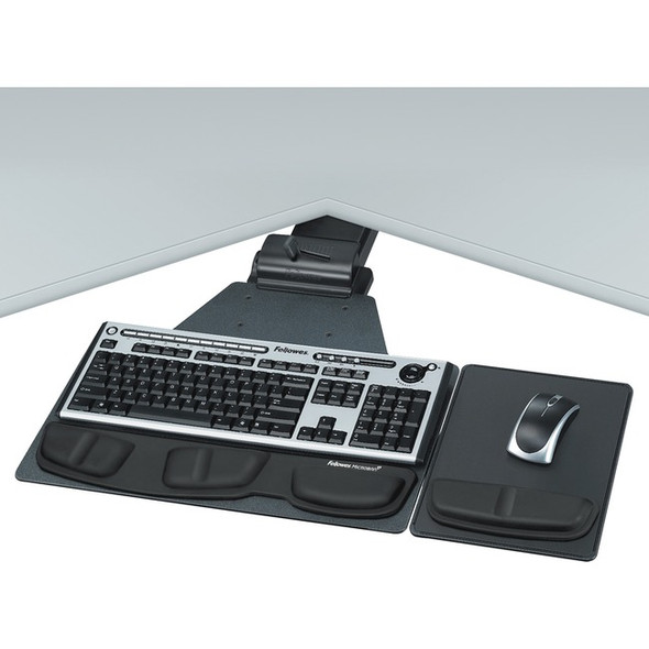 Fellowes Professional Series Corner Executive Keyboard Tray - 8035901