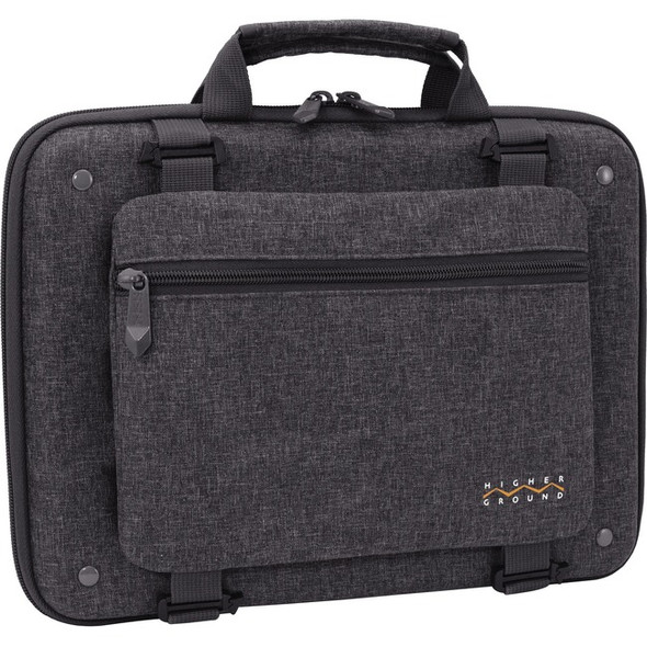 "Higher Ground Shuttle 3.0 Carrying Case for 14"" Notebook - Gray - STL3.0-14GRY"