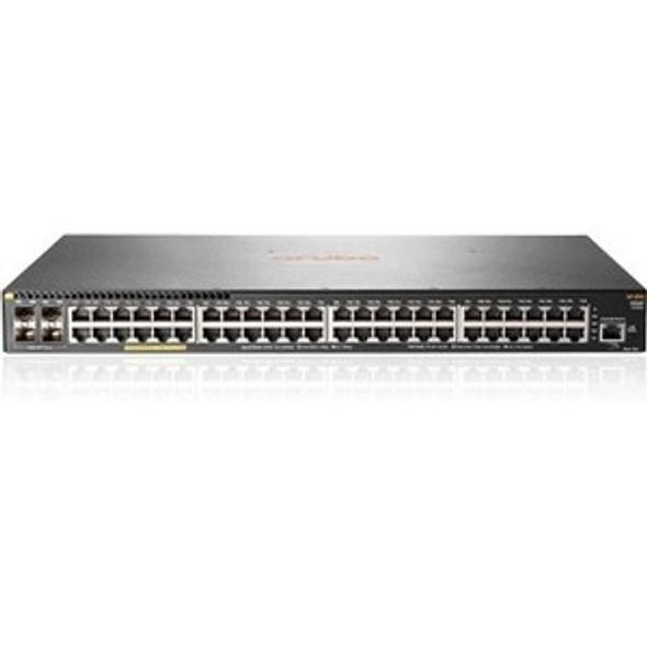 Aruba 2930F 48G PoE+ 4SFP 740W Switch - JL557A#ABA