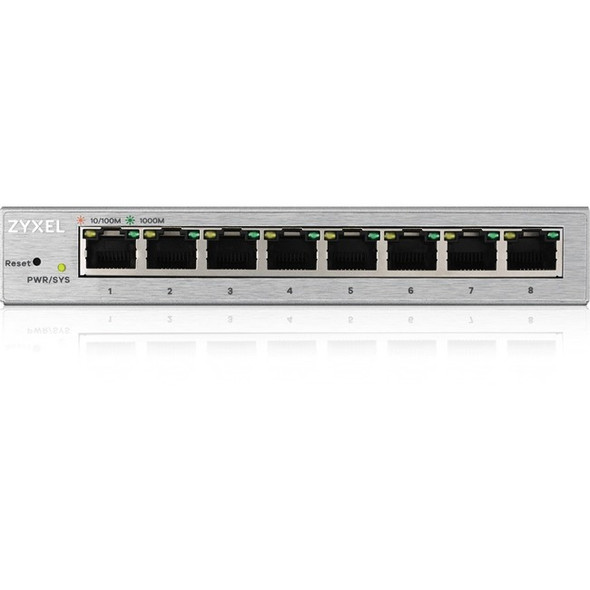 ZYXEL 8-Port GbE Web Managed Switch - GS1200-8