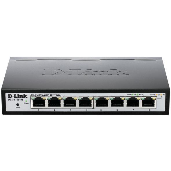 D-Link DGS-1100-08 Ethernet Switch - DGS-1100-08