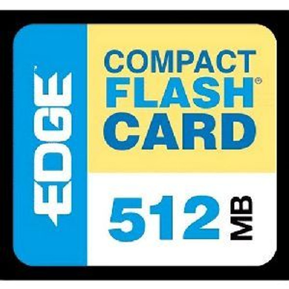 EDGE Tech 512MB Digital Media CompactFlash Card - PE179502