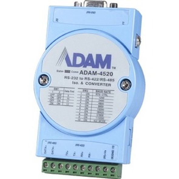 Advantech Isolated RS-232 to RS-422/485 Converter - ADAM-4520-EE