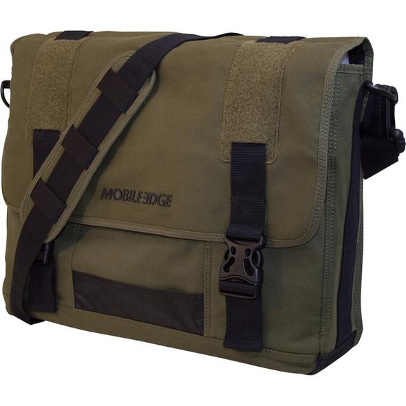 "Mobile Edge 17.3"" Eco-Friendly Canvas Messenger Bag - MECME9"