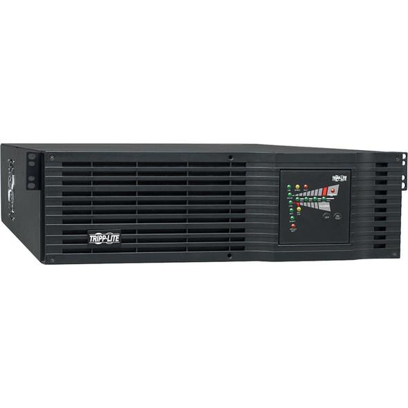 Tripp Lite UPS Smart Online 3000VA 2400W Rackmount 208V / 240V DB9 Preinstalled WEBCARDLX 3URM - SU3000RTXL3UN