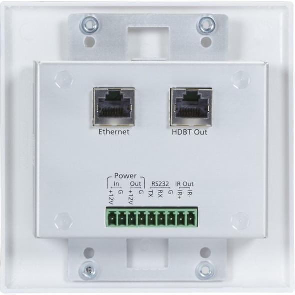 Black Box VX1000 Series Extender Wallplate Transmitter - 4K, HDMI, VGA, HDBaseT, USB - VX-1002-TX
