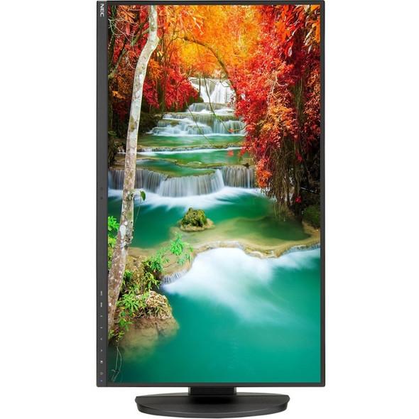 "NEC Display MultiSync EA271Q-BK-SV 27"" WQHD WLED LCD Monitor - 16:9 - Black - EA271Q-BK-SV"