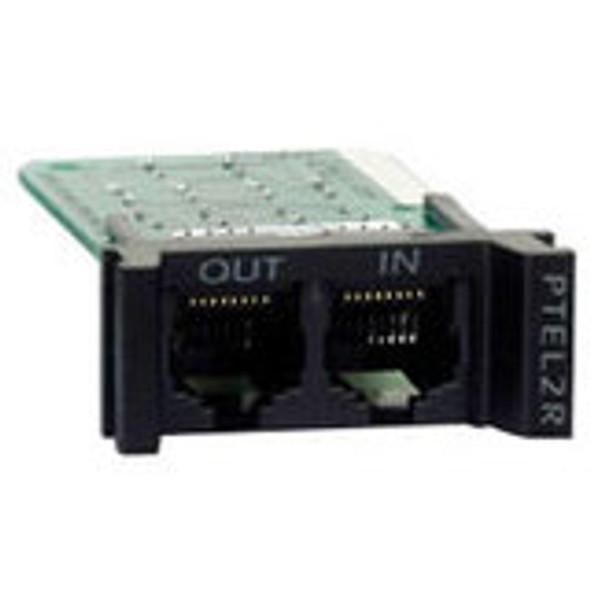APC Replaceable, Rackmount, 1U, 2 Line Telco Surge Protection Module - PTEL2R