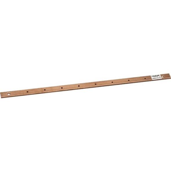 """Black Box Grounding Bar for 19"""" Rack (0.2""""H x 0.75""""W x 20.2""""L) - RM064-R2"""