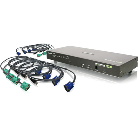 IOGEAR GCS1808KITU Combo KVM Switch - GCS1808KITU