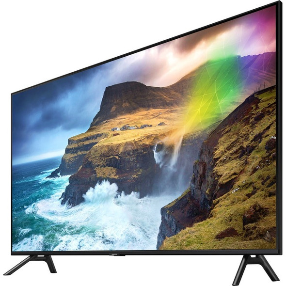 "Samsung Q70R QN75Q70RAF 74.5"" Smart LED-LCD TV - 4K UHDTV - Slate Black - QN75Q70RAFXZA"
