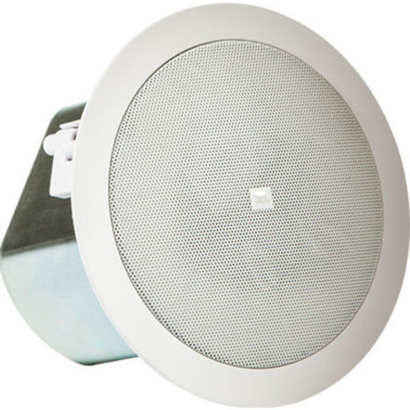 JBL Professional Control 12C/T Ceiling Mountable, Blind Mount Speaker - 80 W RMS - White - CONTROL 12C/T