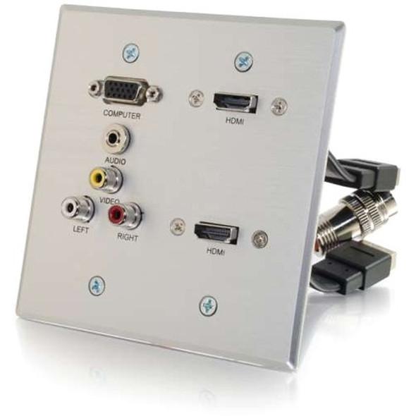 C2G-RapidRun Faceplate - 60143