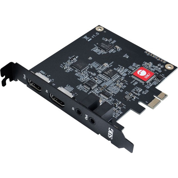 SIIG Live Game HDMI Capture PCIe Card - CE-H25111-S1