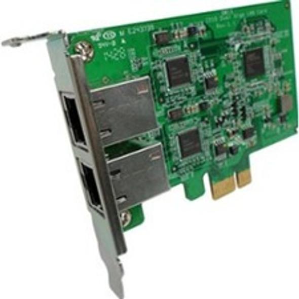 QNAP LAN-1G2T-I210 Dual-Port 1 GbE Gigabit Network Expansion Card - LAN-1G2T-I210