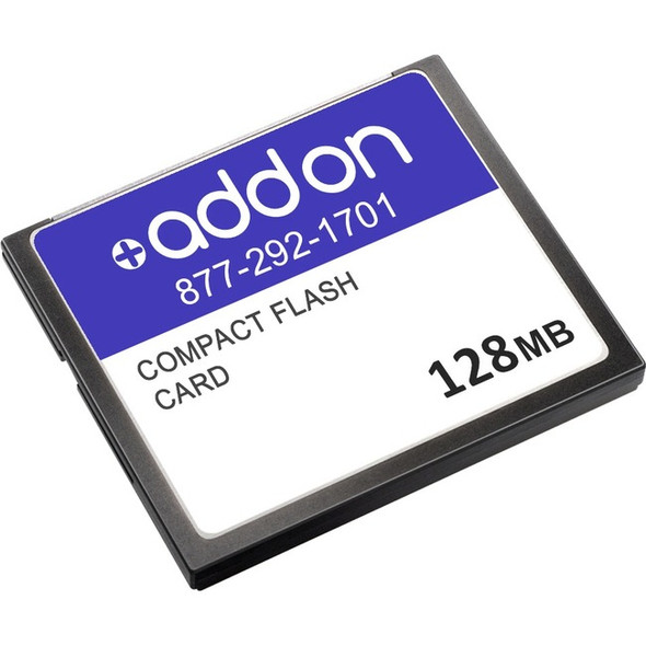 AddOn Cisco MEM3800-64U128CF Compatible 128MB Flash Upgrade - MEM3800-64U128CF-AO