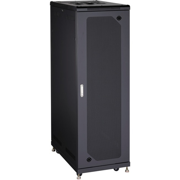 "Black Box Server Cabinet - 38U, 24""W x 40""D, Mesh Front - RM2420A"