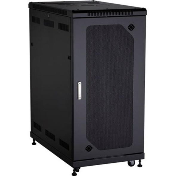Black Box Select Plus Cabinet with Mesh Front Door, 24U - RM2515A