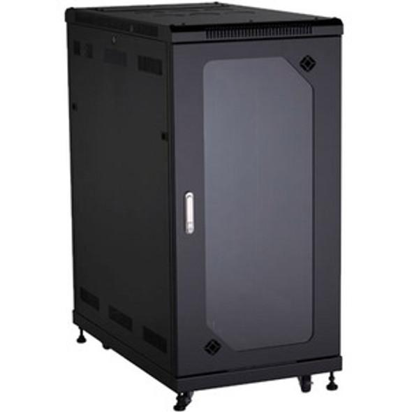 Black Box Select Plus Cabinet with Plexi Front Door, 24U - RM2525A