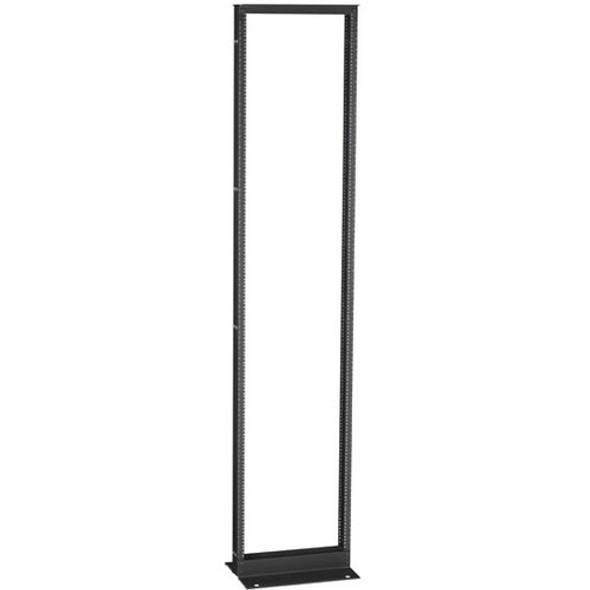 "Black Box 2-Post Premier Aluminum Distribution Rack, 96"" (51U), Black Finish - RM251A"