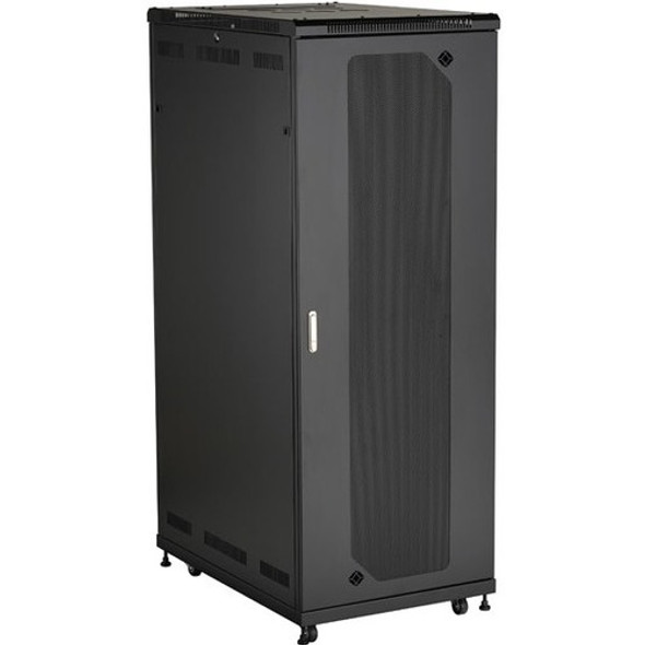 "Black Box Select Plus Split Rear Door Cabinet with Mesh Front, 42U, 30""W x 42""D - RM2545A"