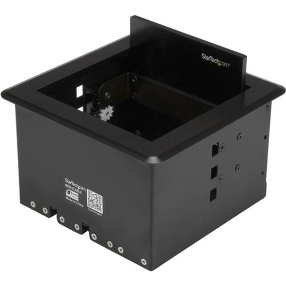 StarTech Conference Table Cable Management Box - Table Top - Conference Room AV - Conference Table Connectivity Box - BOX4CABLE