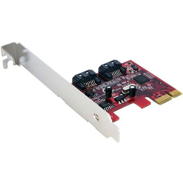 StarTech 2 Port SATA 6 Gbps PCI Express SATA Controller Card - PEXSAT32