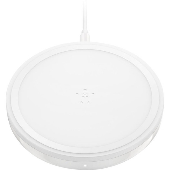 Belkin BOOST UP Bold Wireless Charging Pad 10W for Apple, Samsung, LG and Sony - F7U050DQWHT