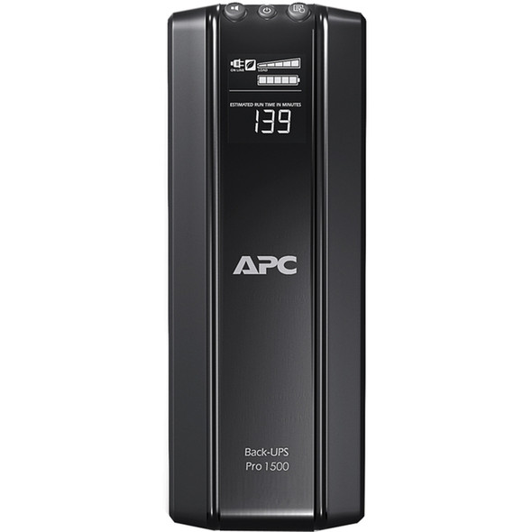 APC by Schneider Electric Back-UPS RS BR1500GI 1500VA Tower UPS - BR1500GI
