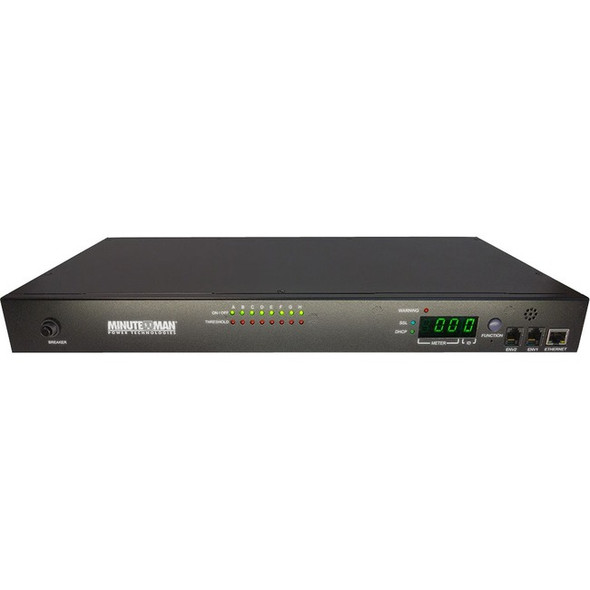 Minuteman IP-Based Switched PDU 8-Outlet 15A IPv6 - RPM1581EV6