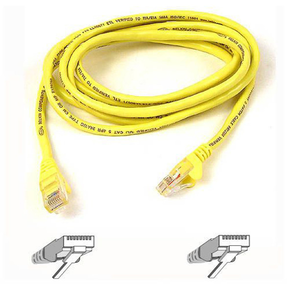 Belkin Cat6 UTP Patch Cable - A3L980-25-YLW-S