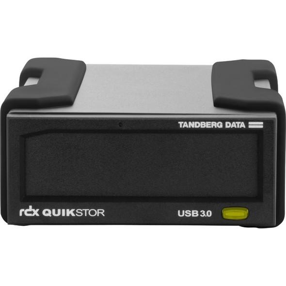 Tandberg RDX QuikStor 8865-RDX 2 TB Hard Drive Cartridge - External - Black - 8865-RDX