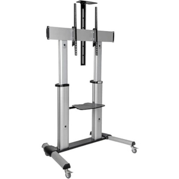 "Tripp Lite Mobile Flat-Panel Floor Stand - 60"" - 100"" TVs and Monitors, Heavy-Duty - DMCS60100XX"