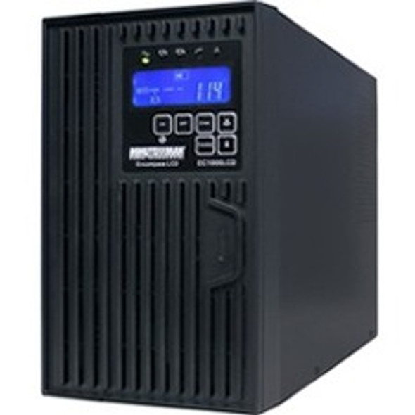 Minuteman 2000 VA On-line Tower UPS with 8 0utlets - EC2000LCD