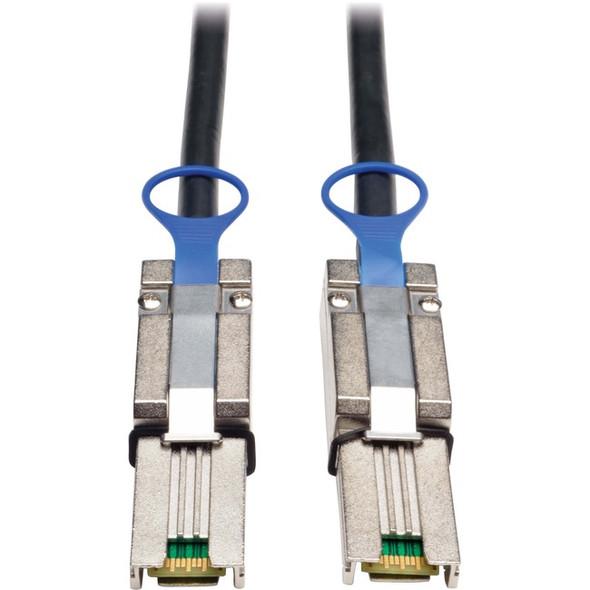 Tripp Lite 3m External SAS Cable 4-Lane Mini-SAS SFF-8088 to Mini-SAS SFF-8088 10ft - S524-03M