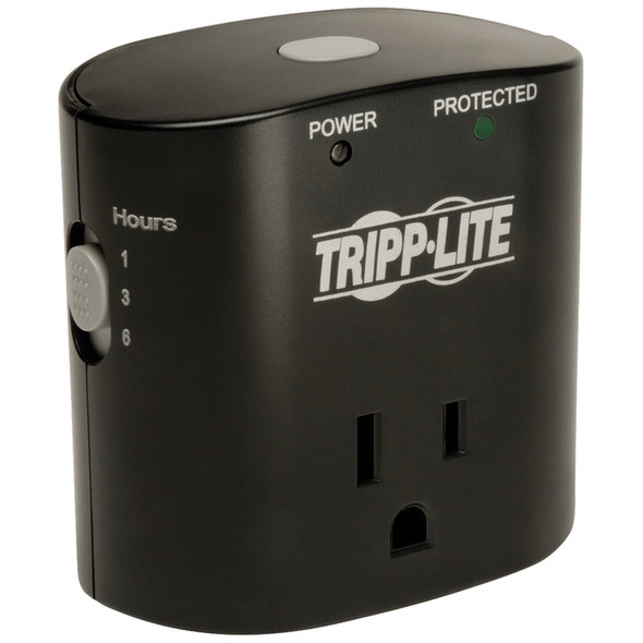 Tripp Lite Surge Protector Wallmount Direct Plug In 1 Outlet with Timer - SK10TG